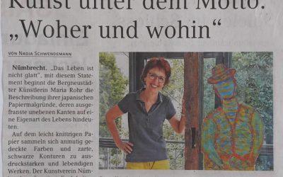 """Kunst unter dem Motto:  """"Woher und wohin"""""""