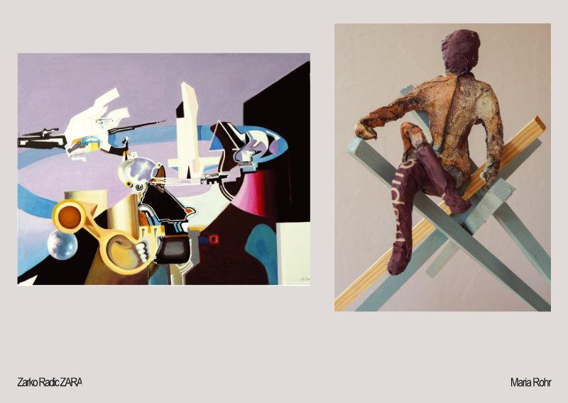 """Zwei Positionen"" – Galerie Glaskarree – Kunstverein Bad Godesberg"